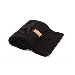 Organic Knitted Blanket (Black)