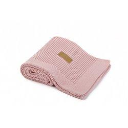 Organic Knitted Blanket (Vintage Pink)